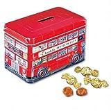 チャーチル(Churchill's) ロンドンバス缶入り クリーム トフィ 1缶【イギリス 海外土産 輸入食品 スナック菓子】