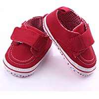 PanDaDa Baby Boys Girls Canvas Rubber Sole Outdoor Sneaker First Walkers Shoes