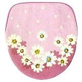 ヨコズナクリエーション フタカバー 洗浄暖房タイプ マーガレット ピンク