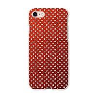 igcase iphone7 iphone アイフォーン 専用ハードケース スマホカバー カバー ケース pc ハードケース 004746 チェック・ボーダー 赤 模様 シンプル