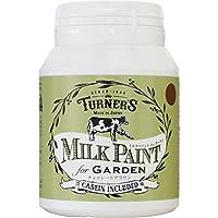 ターナー色彩 アクリル絵具 ミルクペイント for ガーデン チョコレートブラウン MKG20318 200ml