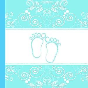 Aqua Baby Shower Guest Book (Aqua Baby Shower Guest Books)
