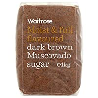 ダークブラウンマスコバド糖1キロ (Waitrose) - Dark Brown Muscovado Sugar Waitrose 1kg