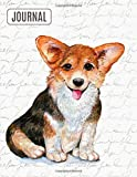 Big Fat Bullet Style Journal Notebook Cute Corgi: Huge Dot Grid Book For Journaling Over 300 Numbered Pages (Dog Lovers Series)