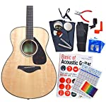 ヤマハ ギター アコースティックギター 初心者 ハイグレード16点セット YAMAHA FS820 N [98765] 【検品後発送で安心】