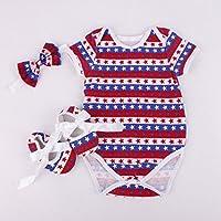Rebornベビー人形Romper Clothesヘッドバンド靴セット20 – 22インチReborn新生児赤ちゃん人形の一致するClothing