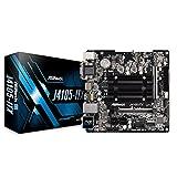 ASRock Intel Quad-Core Processor J4105チップセット搭載 Mini ITXマザーボード J4105-ITX