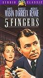 5 Fingers [VHS] [Import] 画像