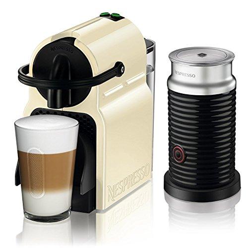 【Amazon.co.jp限定】ネスプレッソ コーヒーメーカー イニッシア エアロチーノセット クリーム D40CW-A3B