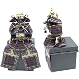 五月人形【アウトレット】 鎧単品【紫縅鎧】 幅33cm[195to1091] 端午の節句