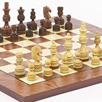 Monte CarloデラックスChessmen & Agostinoチェスボードfrom Italy
