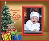 Grandma's Best Gift of All! - Christmas Picture Frame Gift by Expressly Yours! Photo Expressions