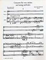 Concerto for Two Violins and String Orchestra: Score (Faber Edition)