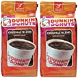 DUNKIN' DONUTS COFFEE ダンキンドーナッツコーヒー(オリジナル340g x 2個) [並行輸入品]
