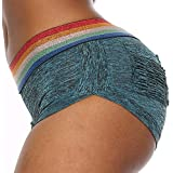 SURMTON Yoga Shorts for Women Ruched Butt Booty Shorts Sport Gym Shorts Running High Waist Shorts Butt Lifting Hot Pants