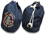 OLD CROW/オールドクロウ 2019SS「Runabout Laundry Bag/ルナボートランドリーバッグ」(OC-19-SS-G03-L) インディゴ