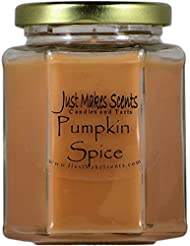 Pumpkin Spice香りつきBlended Soy Candle | Great Smelling Fall Fragrance |手Poured in the USA by Just Makes Scents