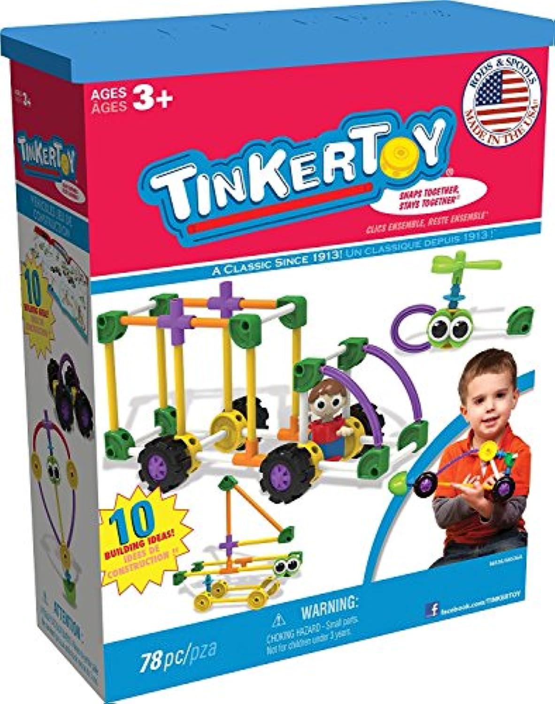 Tinkertoy Vehicles Building Set [並行輸入品]