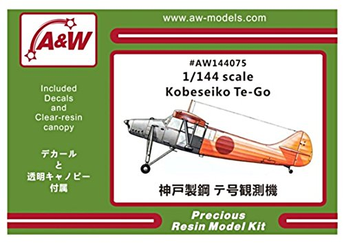 A&Wモデル 1/144 神戸製鋼 テ号 試作観測機 レジンキット AW144075