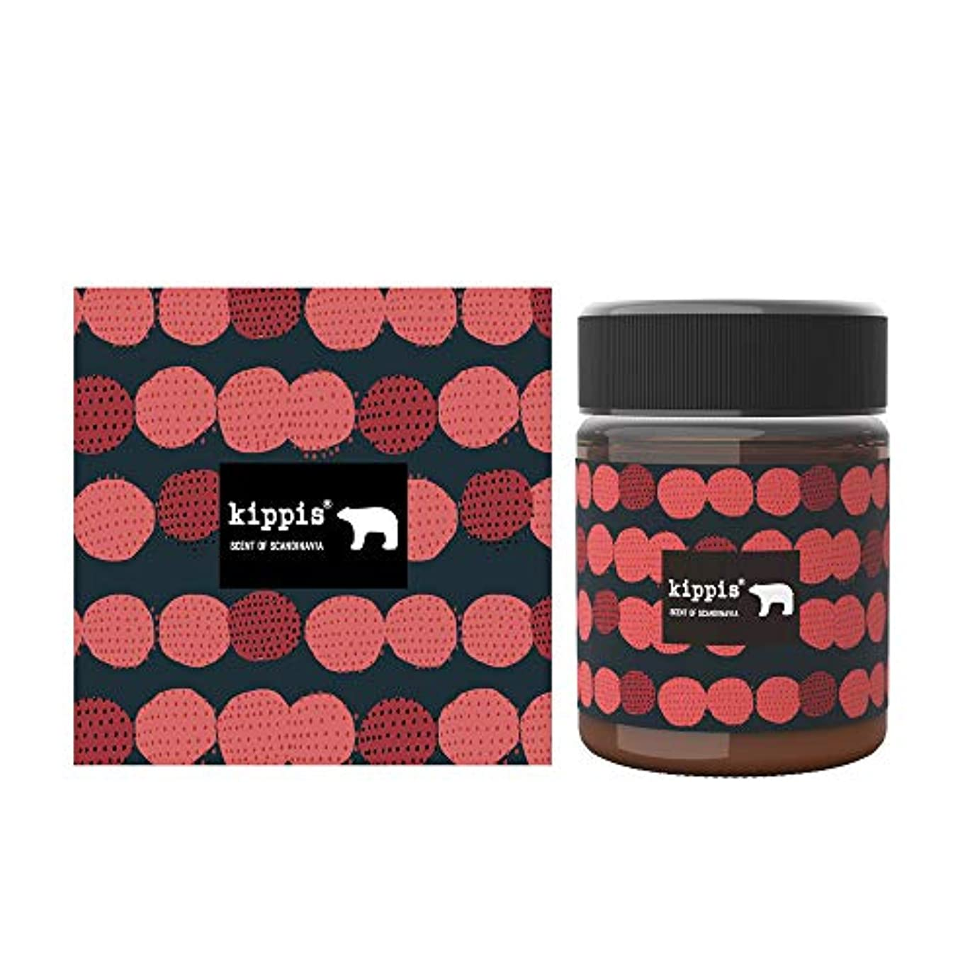 チーター囲まれたむさぼり食うキッピス 髪と肌のトリートメントワックス(甘酸っぱい真っ赤なベリーの香り)40g