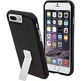 Case-Mate iPhone 8 Plus ワイヤレス充電対応 ケース 5.5インチ (iPhone 7 Plus/iPhone 6s Plus/6 Plus) 耐衝撃 ハイブリッド タフ スタンド, ブラック 二重構造 アイフォン8 Plus カバー 米軍MIL規格準拠 CM034796X
