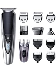 Hatteker Mens Beard Trimmer Kit Body Mustache Trimmer Hair Trimmer for Nose Ear Grooming Trimmer Kit Body Grommer...