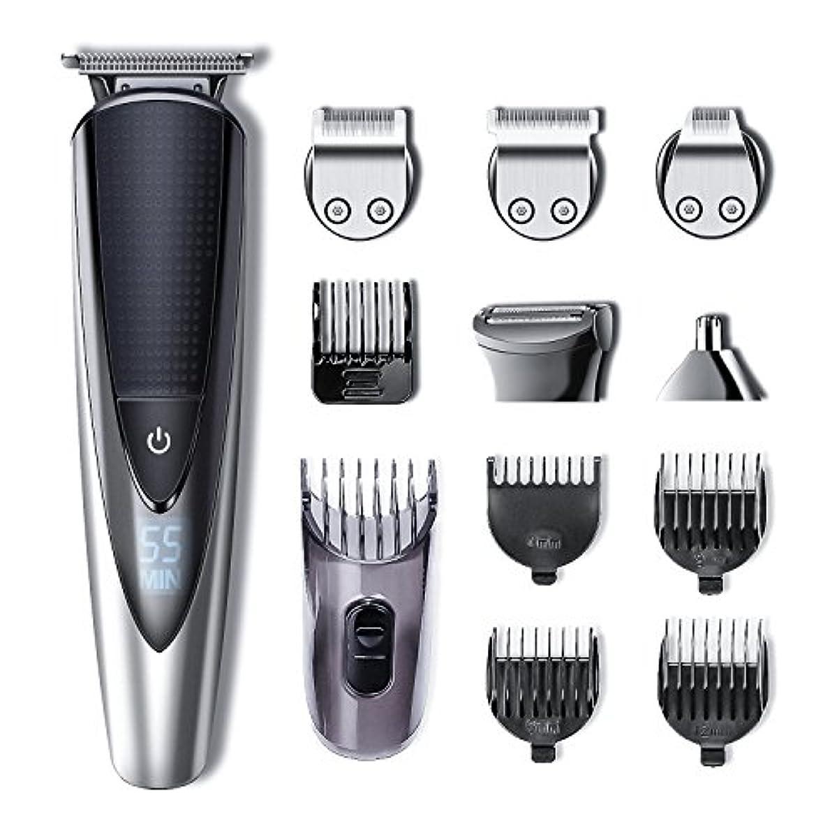 方言準拠酸素Hatteker Mens Beard Trimmer Kit Body Mustache Trimmer Hair Trimmer for Nose Ear Grooming Trimmer Kit Body Grommer...