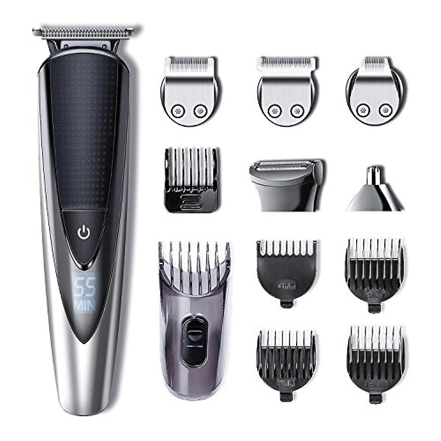 文言宿題配置Hatteker Mens Beard Trimmer Kit Body Mustache Trimmer Hair Trimmer for Nose Ear Grooming Trimmer Kit Body Grommer...