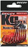 デコイ(DECOY) キロフック(Kg HOOK) WORM17 ・#1