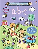 ABC Sticker Book (First Sticker Books)