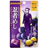 味覚糖 忍者めし 巨峰  20g 20袋 (10×2)