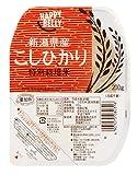 Happy Belly 新潟県産特別栽培米こしひかり 200g×20個 (白米 パックご飯)