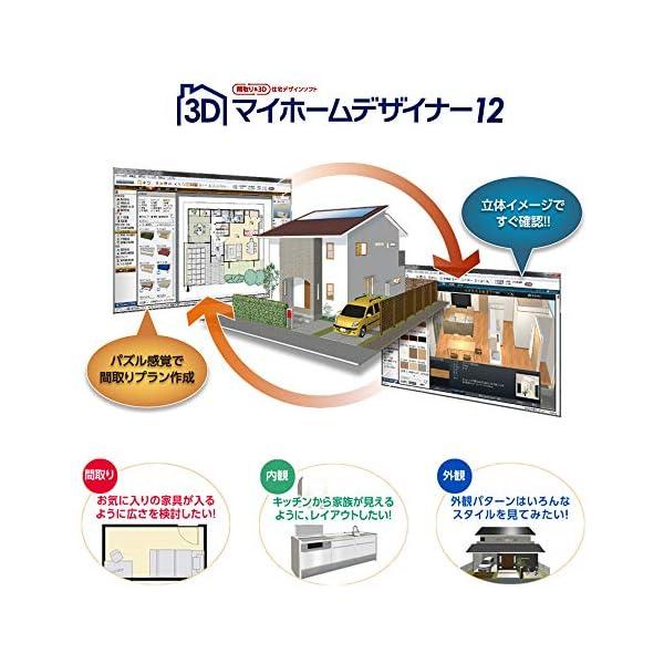 3Dマイホームデザイナー12 グラフィックパックの紹介画像3