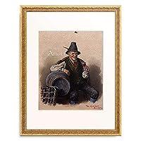 Kramer, Peter,1857-1936 「Die Weinprobe.」 額装アート作品