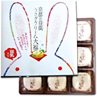 京都の豆腐うさぎクリーム大福 9個入