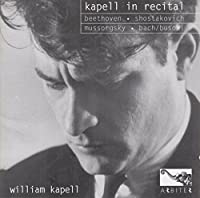 Kapell in Recital by Beethoven (1997-02-18)