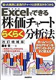 Excelでできる株価チャートらくらく分析法—狙った銘柄に最適のチャートと投資法がみつかる