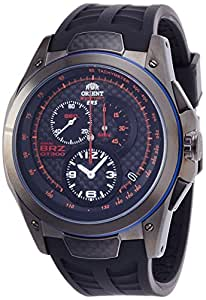 [オリエント]ORIENT 腕時計 SPEED TECH ERSXBRZコラボ世界数量限定(1000本) ブラック WV0031KT メンズ