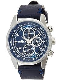 [グランドール プラス]GRANDEUR PLUS 腕時計 クロノグラフ イタリアンレザー(タンニンレザー) GRP001W2 メンズ