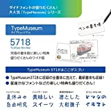 DynaFont TypeMuseum 5718 TrueType for Windows [ダウンロード]