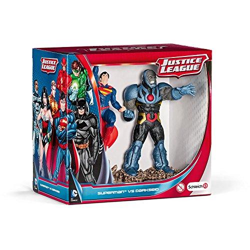 Schleich シュライヒ DCコミックスフィギュア シーナリーパック スーパーマンvsダークサイド 22509