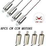 Best SYMAカメラ - [Pack of 8pcs] tech rc Spare Parts Replacement Review