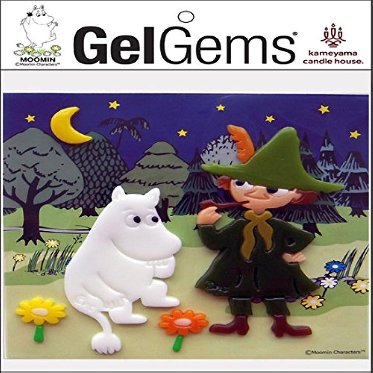 用心深いいたずらなどちらもカメヤマキャンドルハウス ジェルジェムバッグS ムーミン ヨルノモリ GelGems
