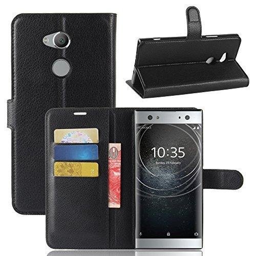 Sony Xperia xa2Ultraケース、MYLBライチスキンPUレザー[財布フリップカバー] [カードホルダー]スタンド磁気フォリオケースfor Sony Xperia xa2Ultraスマートフォン LZW-Sony Xperia XA2 Ultra