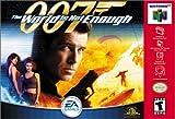 ニンテンドウ64ソフト 海外版 007 The World Is Not Enough Electronic Arts