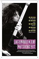 映画の金属看板 ティンサイン ポスター / Tin Sign Metal Poster of Movie Jason Becker: Not Dead Yet