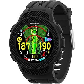 GreenOn(グリーンオン) G012 ゴルフナビ GPS ザ・ゴルフウォッチ A1 (エーワン) 1m精度のみちびきL1Sに対応 オールインワン画面搭載 高精細反射型カラー液晶 10周年記念モデル