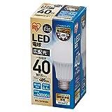 アイリスオーヤマ LED電球 E26口金 40W形相当 昼白色 広配光タイプ 密閉形器具対応 LDA4N-G-4T1