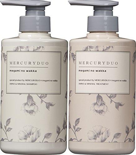 MERCURYDUO SHAMPOO&TREATMENTセット 480ml MERCURYDUO × megami no wakka (マーキュリーデュオ × 女神のわっか) special product シャンプー トリートメント