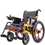 電動車椅子折りたたみ式ポータブル、最長ドライブ20km20Aリチウム電池24インチホイール、高齢者向けの2つのモード